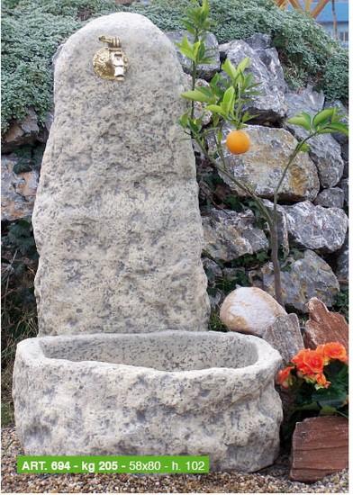 Arredi per giardino cassette vasi fontane arredo urbano - Foto fontane da giardino ...