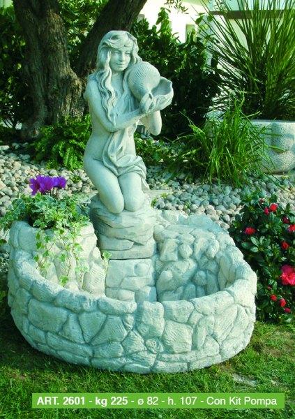 Arredi per giardino cassette vasi fontane arredo urbano for Fontane da giardino fai da te
